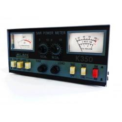 Alan CTE K-350, Medidor de ROE, vatimetro...