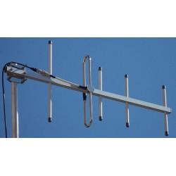 AUC-5 - Antena directiva 5 elementos UHF 400-415 MHzAUC-5 - Antena directiva 5 elementos UHF 400-415 MHz