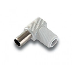 MC-095  Conector macho de 9,5 mm. Ø blindado