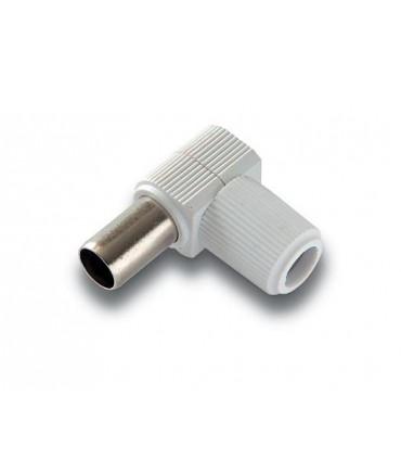 MC-095  Conector macho de 9,5 mm. Ø blindado