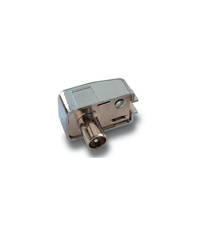 MC-001  Conector macho de 9,5 mm. Ø blindado