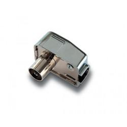 HC-001  Conector hembra de 9,5 mm. Ø blindado