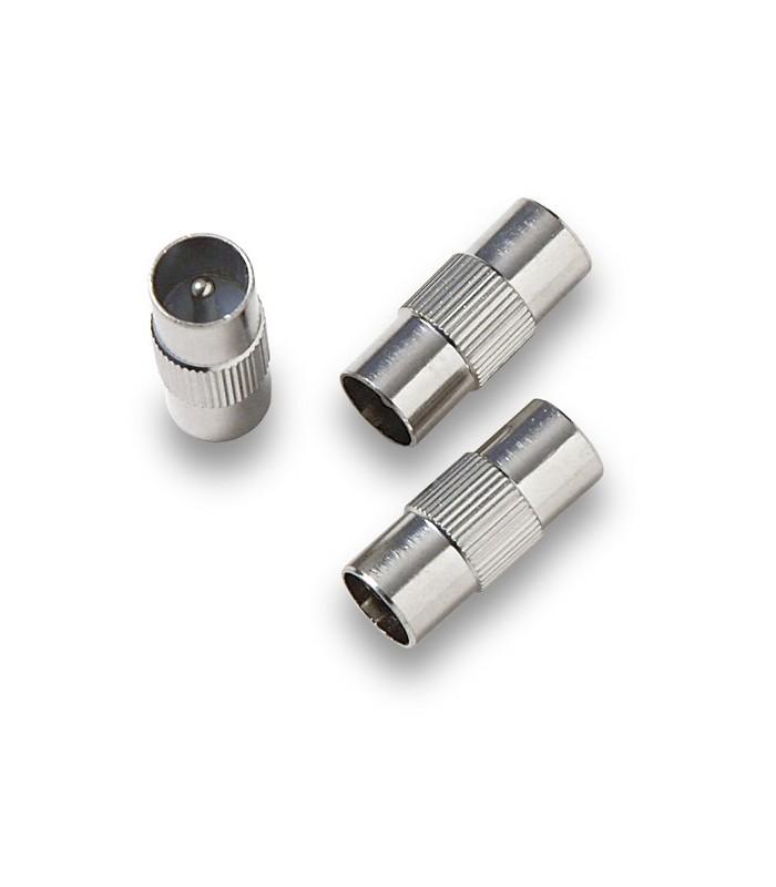 EP-313  Adaptador IEC macho a macho Ø 9,52mm
