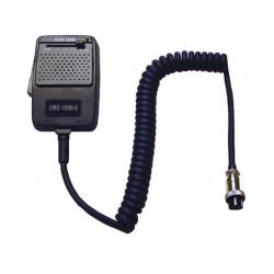 EMD-1000/6 - Micrófono ECO regulable, capsula de micro tipo dinámico y conector 6 Pin. Blister.