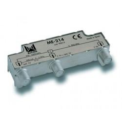 ME-214  Mezclador 2 entradas, TV-SAT