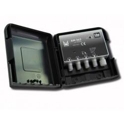 AM-262  Amplificador de mástil 2 entradas, UHF-DAB/FM