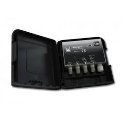 AM-270  AMPLI UHF-BIII/DAB 20 dB LTE MASTIL 12Vdc