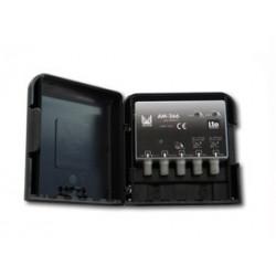AM-362  Amplificador de mástil 3 entradas, UHF-UHF-DAB/FM