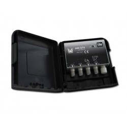 AM-274  AMPLI UHF-BIII/DAB 34 dB LTE MASTIL 12Vdc