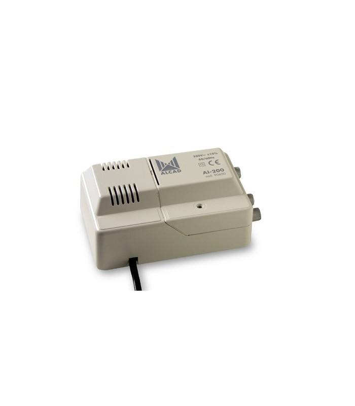 AI-200  Amplificador para interior 1 ent, 2 sal, UHF