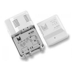 AI-233  Amplificador de interior CATV 2 salidas,