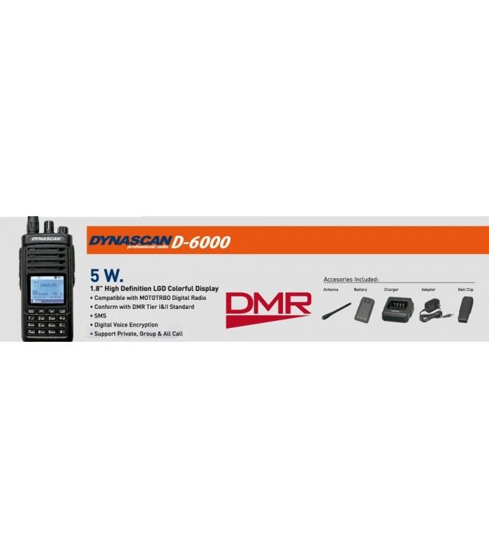 DYNASCAN D6000 DMR