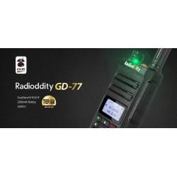 ¡NUEVO! RADIODITTY GD-77 DMR DUAL V/U
