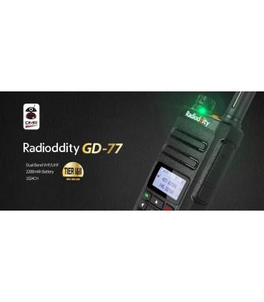¡NUEVO! RADIODDITY GD-77 DMR DUAL V/U