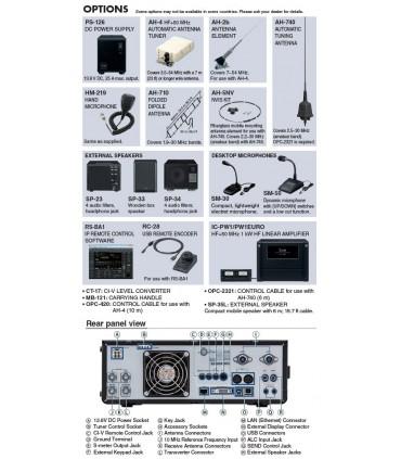 Emisora Transceptor HF Icom IC-7610 ICOM