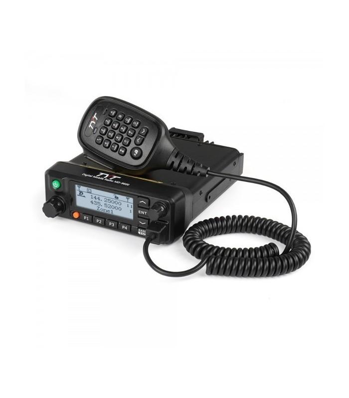 TYT-MD-9600 GPS Emisora Analógica y Digital DMR , Doble banda 144/ 430 Mhz