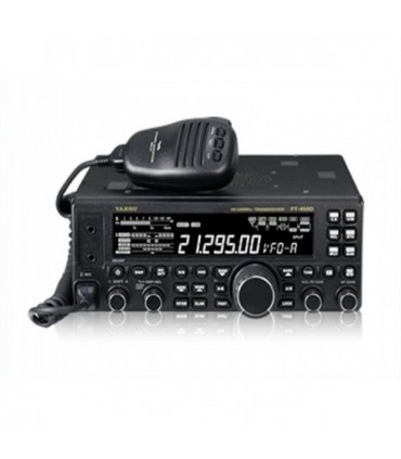 FT-450-D - Transceptor HF+50MHz con Micro MD100AOX