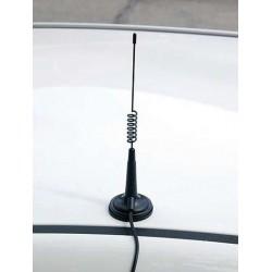 IDEA-33-E - Antena móvil CB, con base magnética y cable RG-58