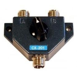 CX-201 - Conmutador de antena 2 posiciones. CONECTOR PL