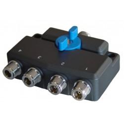 DX-SW-4-N - Conmutador coaxial 4 posiciones