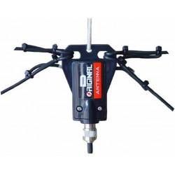 DX-W-1080 - Dipolo de hilo para 10-15-20-40-80 m