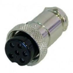 CONECTOR MIROFONO 6 PIN