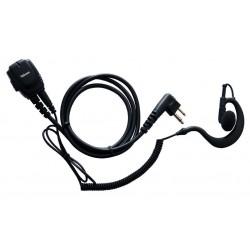 JD-2303 - Micro-auricular gama profesional. IP-54.