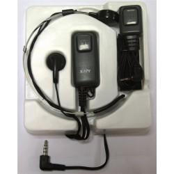 X-17-Y - Micro-auricular activado por laringe