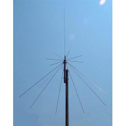 DX-D-130 - Antena tipo DISCONE