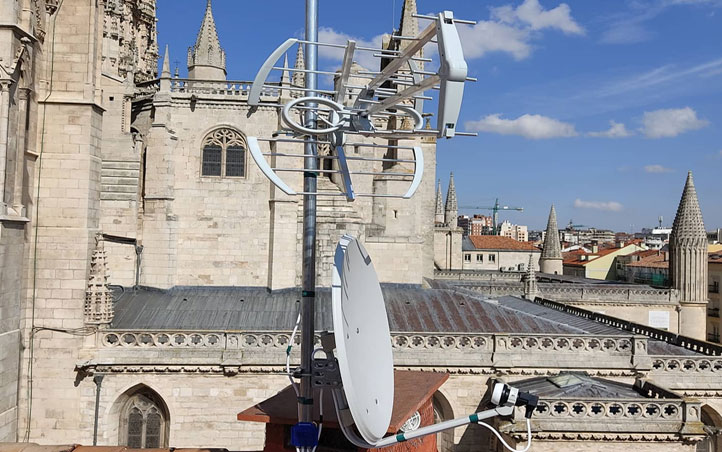 Instalacion de antena